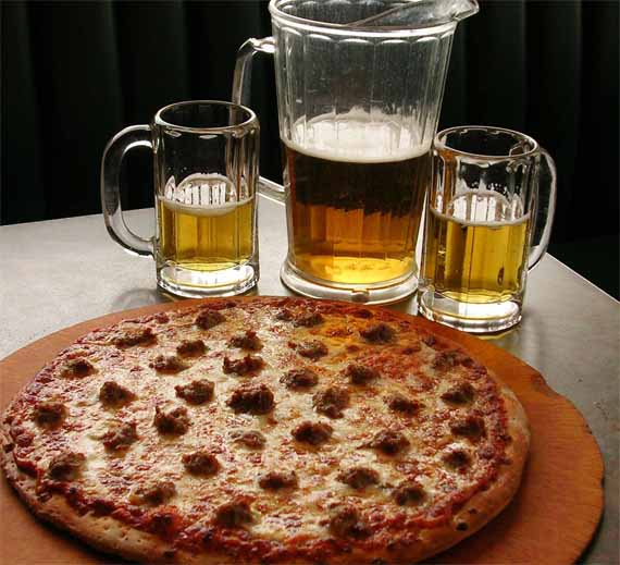 Pizza & Beer, Match Made In Heaven